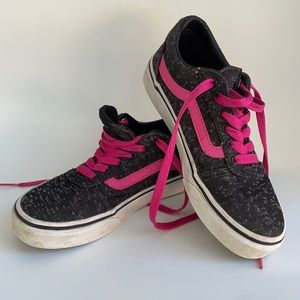 Missy Vans Off The Wall (black,pink,white)